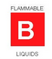 Illustration for Classification B - Flamable Liquids